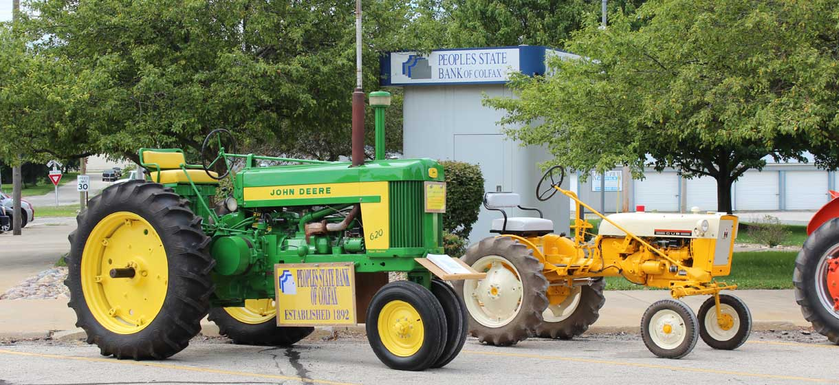Peoples State Bank of Colfax - Tractors